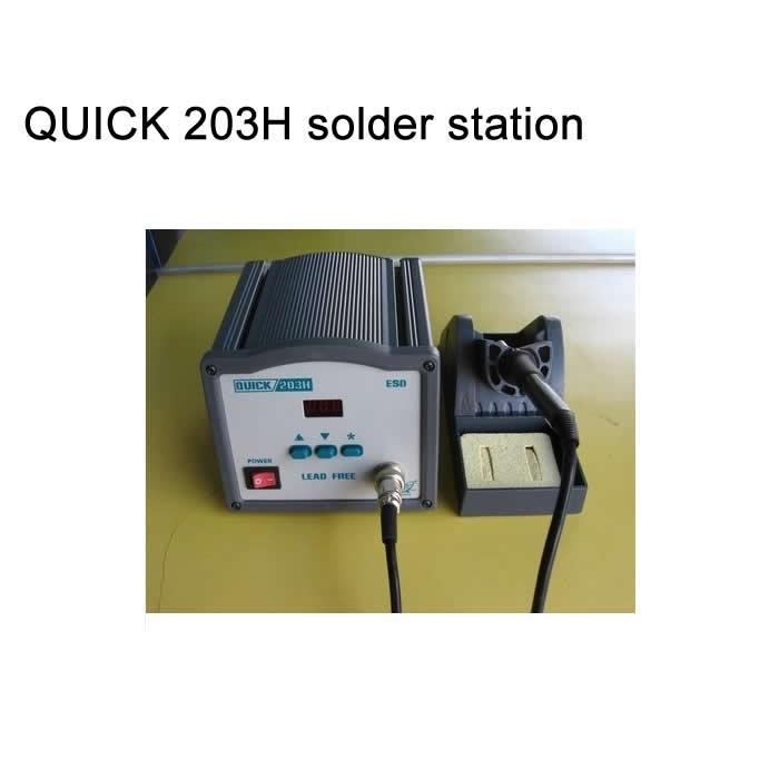 Lead free soldering station QUICK 203H bga machine