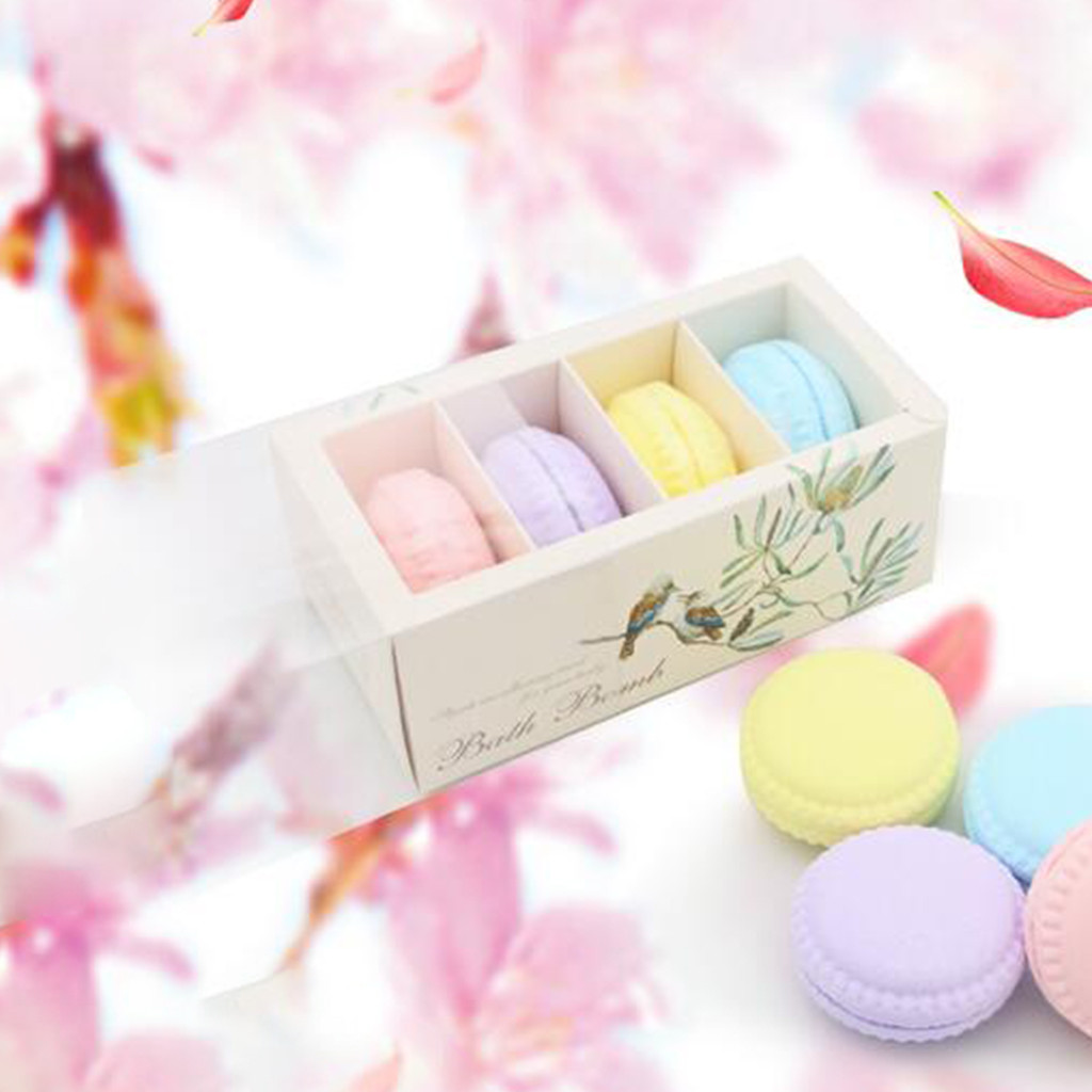 4pcs/Bag Bathing Bombs Explosion Ball Fizzy Spa Moisturizes Bubble Bath Summer Style Colorful Bubble Shower Bombs Ball Wholesale