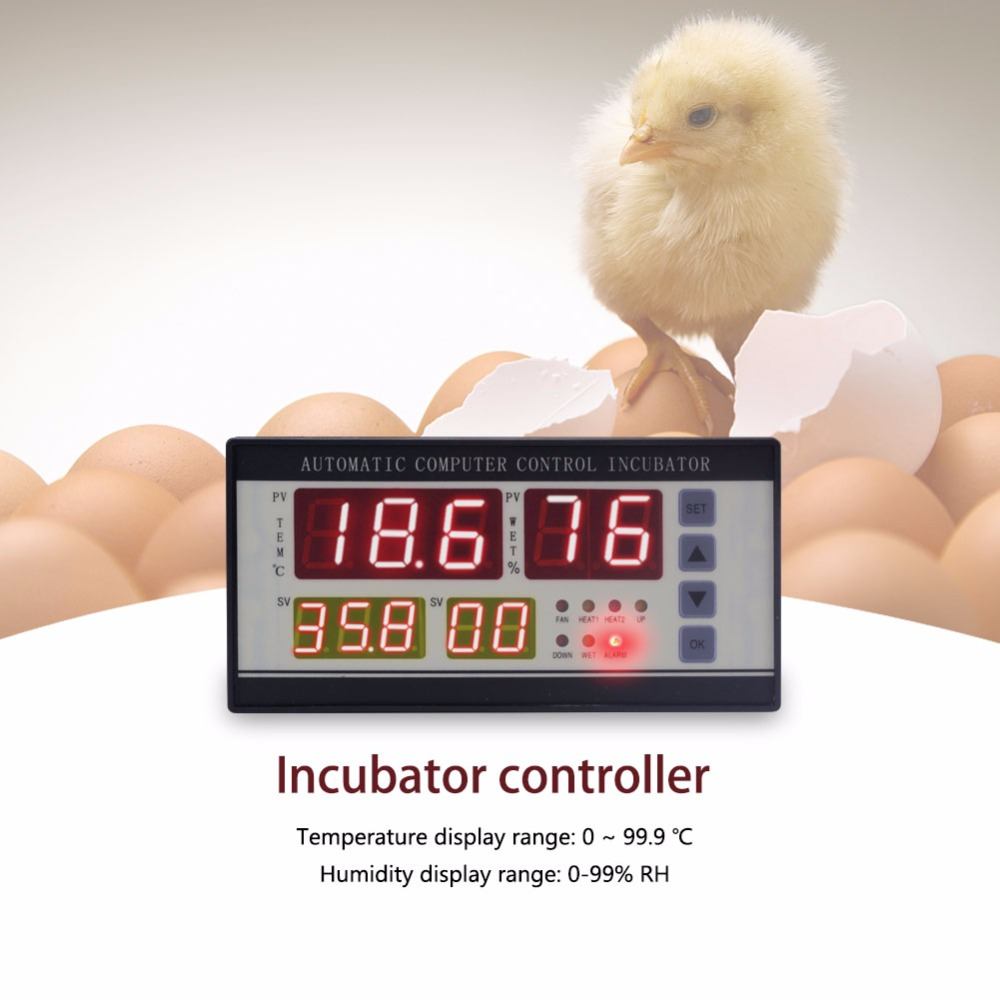 XM 18 Digital automatic small egg incubator thermostat controller for humidity and temperature controlling
