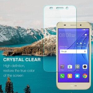 Image 3 - Huawei Y3 2017 Temperli Cam Için Huawei Y3 2017 CRO U00 CRO L02 CRO L22 CRO L03 CRO L23 Ekran Koruyucu koruyucu film