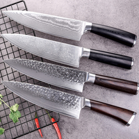 Damascus Steel Knives Kitchen Chef Knife 8 VG 10 67 Layers Stainless Steel Japanese Santoku Meat Slicing Vegetable Knives Tools