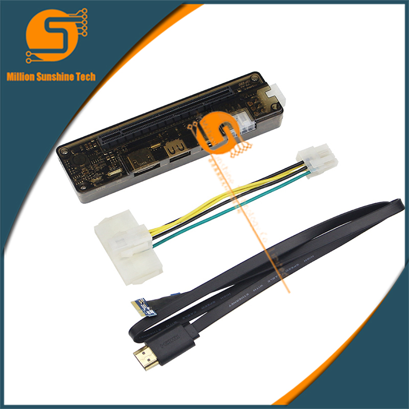 EXP GDC Laptop External Connection PCI-e Independent Graphics Card Beast Series MINI PCI-E/NGFF M.2 A  Expresscard Version
