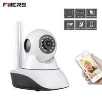 Fuers WiFi Camera Home Burglar Security Alarm Camera IOS Android App Remote Control Compatible With PIR