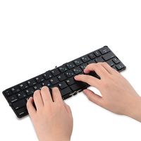Portable Bluetooth Keyboard English for ipad Samsung Children Tablets Phone Xiaomi Huawei Foldable