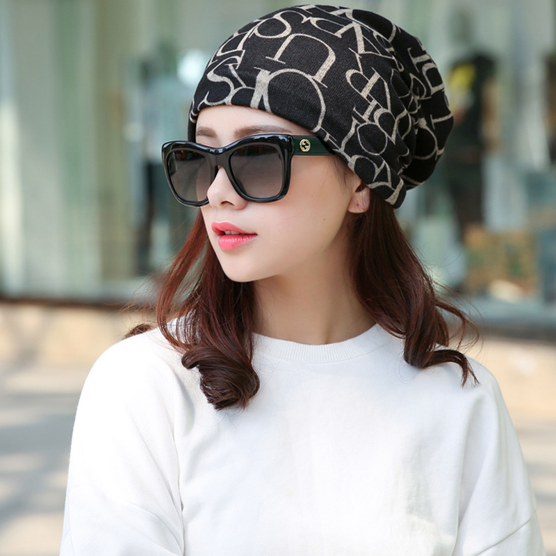 Long Keeper New Korea Brand Hip-Hop Hat &Sacrf Women Knitted Hat Skullies Lady Touca Letter Gorro Piles Cap Beanies Womens Hat