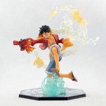 Anime One Piece Monkey D Luffy Battle Ver. PVC Action Figure Brinquedos Zero One Piece Figures Collection Model Toys 14CM