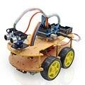 Multi-função Smart Car Kit Bluetooth Chassis terno Rastreamento Compatível UNO R3 DIY RC robô de brinquedo Eletrônico