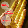 Art And Crafts Powder Painting Cross Stitch Flash Shiny Glitter Neon Pearl Christmas Gold Dust