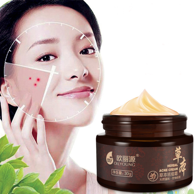 OILYOUNG Blackhead Remover Face Cream Skin Care Acne Scars Acne Treatment Black Head Mite Face Care Whitening Cream Scar Repair