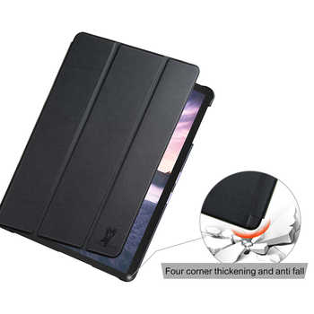 Slim Case for Samsung Galaxy Tab S4 T830 T835 SM-T835 SM-T835 10.5 \'\' Tablet 2018 Pencil Holder Protective Skin