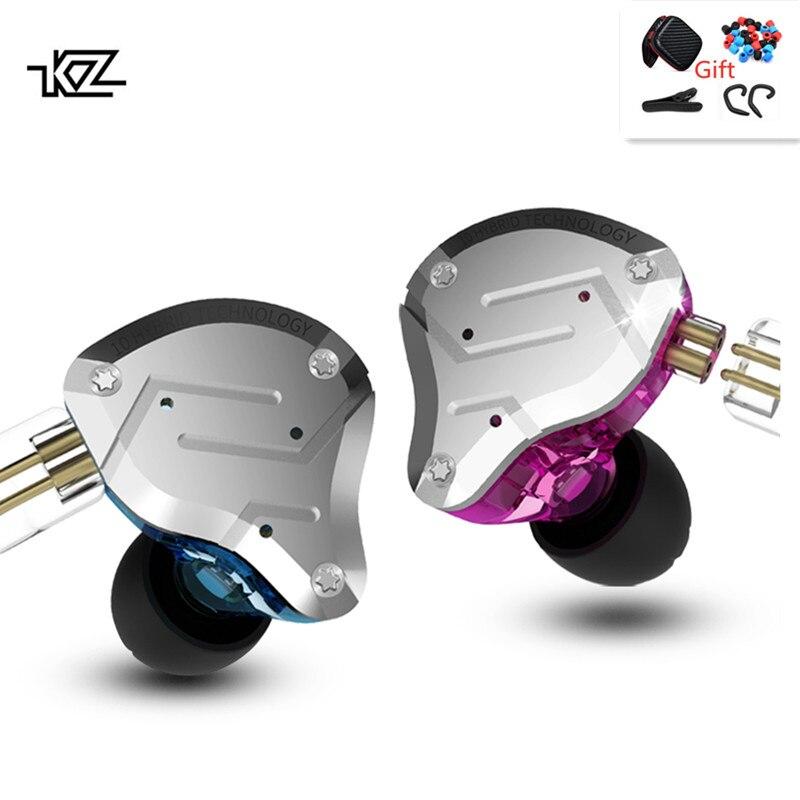 ZS10 Pro In ear Headset Metall 4BA 1DD Hybrid 10 Units Hifi Bass Earbuds Monitor Headphones