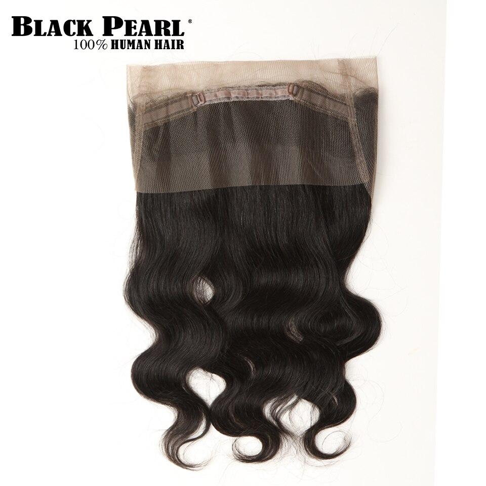 Black Pearl Pre-Colored Body Wave 360 Spets Frontal med Bundlar - Skönhet och hälsa - Foto 4