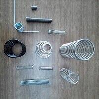 Настроить нержавеющая сталь сжатия Весна Y Форма пружины растяжения нержавеющие электрические пружина DIY