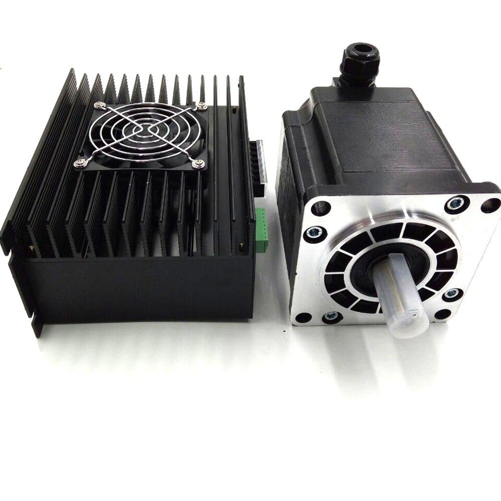 Chine NEMA52 kits pas à pas 1.2 degrés 35Nm 6.9A 130mm 3 phases Micro moteur pas à pas pilote et moteur Kit 3M2280-10A + 130BYGH350C