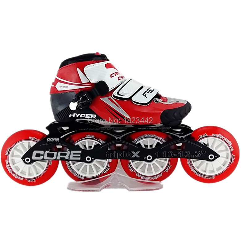 In stock HAIPU inline skating shoes Professional adult speed skates skating wheels fighter pilot skate frame