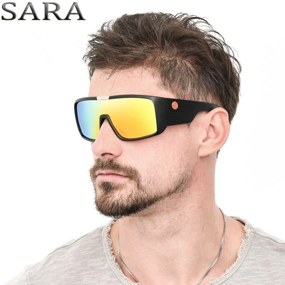 DOMO Sunglasses Men Sport Goggle Women outdoor Brand Sun Glasses Windproof Shiel