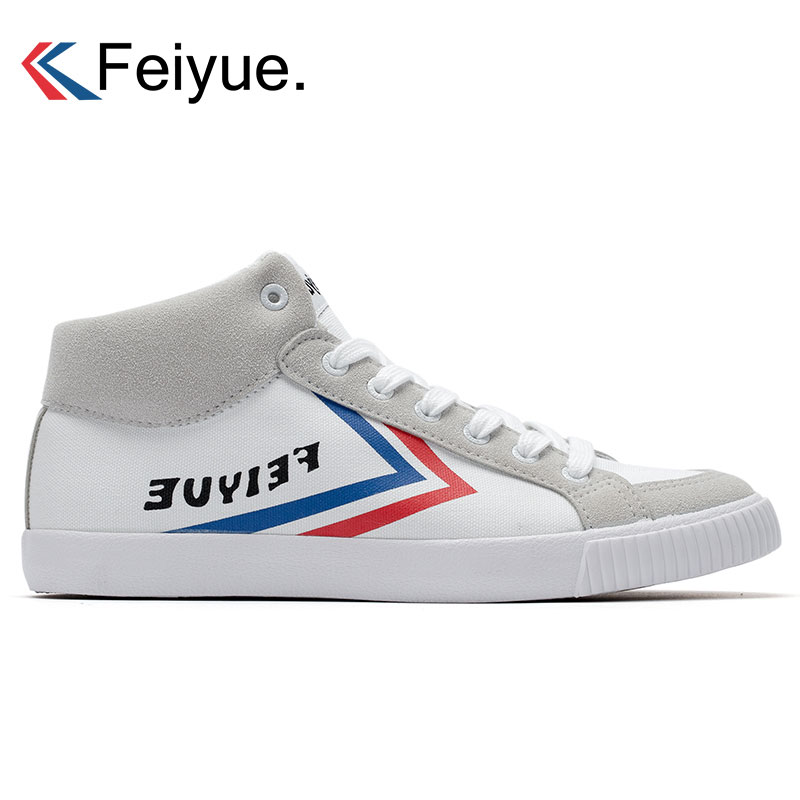 Feiyue Original Skateborading Sneakers Men Classical Ankle Boots Martial  arts Taichi Taekwondo Kungfu Black Sports Walking 814fe0ec57a3