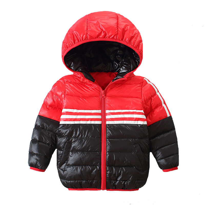 2018 Winter New Ultra Light Down Jacket Children Warm Outewear Overcoat Boys Girls Hoodie 3-7y Baby Girls Parka Clothes Kid Coat enlighten brick ракетный крейсер 821 843 элемента page 2