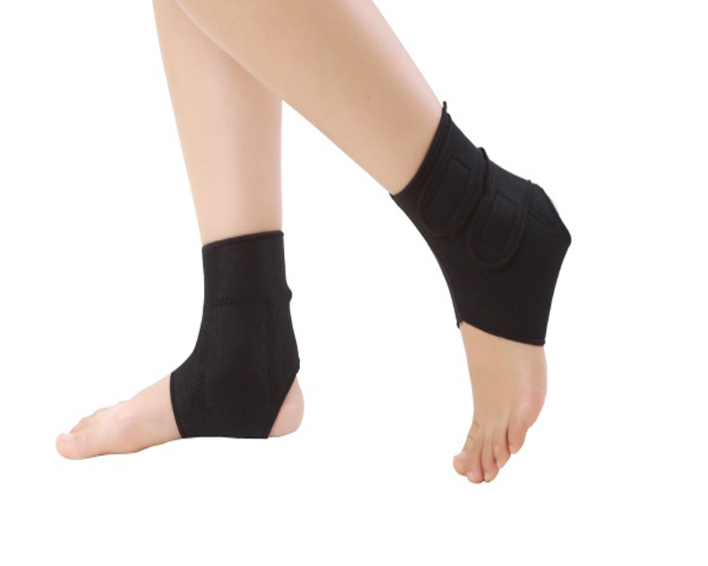 2 pcs Elastic tourmaline products magnetic therapy Ankle Brace Support Band Sports Gym Protects Therapy shoes ankle protector
