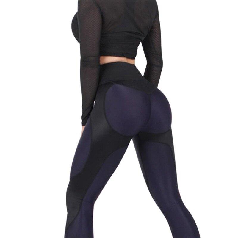 Для женщин Леггинсы для женщин Фитнес время приключений лоскутное Толстые Леггинсы Упругие тренировки Леггинсы для женщин спортивные Брюк...