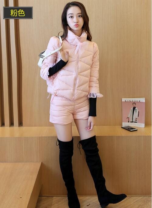 Women Light Down Jacket Hooded Coat Long Jacket Women Plus Size 3XL Long Sleeve Brief Down