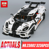 Lepin 23002 3136Pcs Technic Series The MOC 4789 Changing Racing Car Set Children Educational Building Blocks