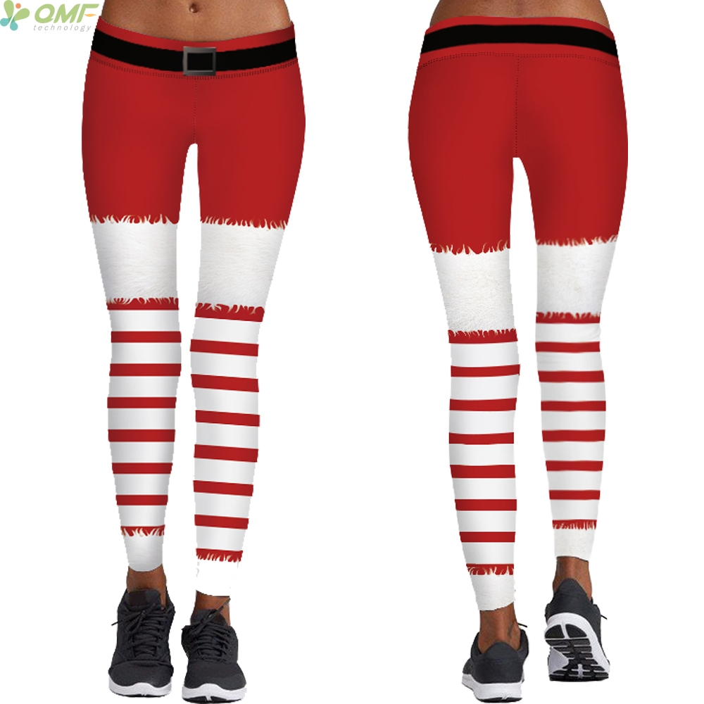 876c648586f25 Buy leggings red and white striped and get free shipping on AliExpress.com