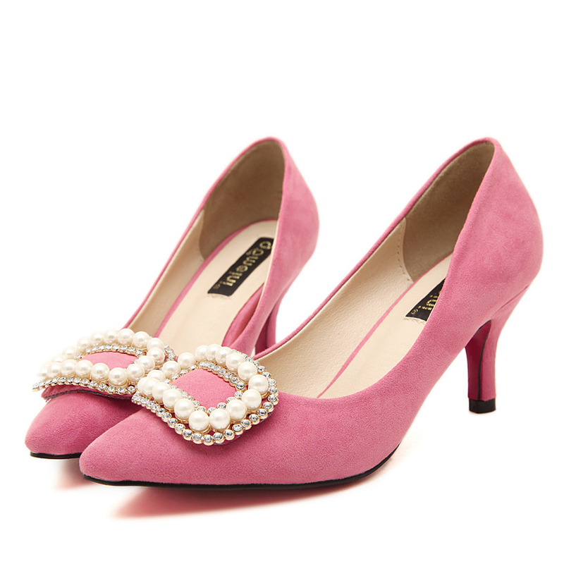 Pink Low Heel Wedding Shoes: Popular Hot Pink Low Heel Wedding Shoes-Buy Cheap Hot Pink