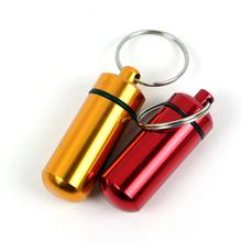 Wholesale 2 pc/lot Storage travel portable storage sealed bottle small cartridge outdoor waterproof mini canister