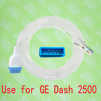 Use with GE Dash 2500 Pulse Oximeter monitor , Child and Adult ear or Animal tongue clip spo2 sensor.11PIN,with OXIMAX TECH.
