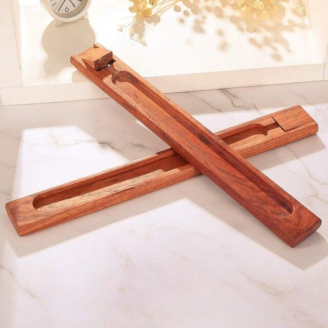 Bâton plaque dencens en bambou | 1 pièce, porte-encens, articles parfumés, brûleur dencens, décor de jardin maison