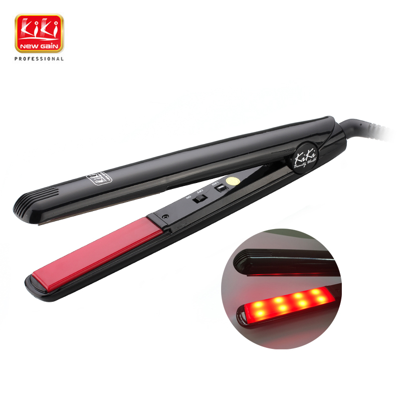 KIKI NEWGAIN Ultrasonic & Infrared Hair Care Iron  Recovers the damaged hair Hair Treament Styler Cold Iron Hair Care Treatment