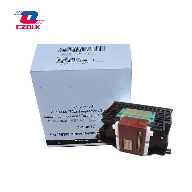 Original QY6-0067 printhead for Canon iP5300 MP810 iP4500 MP610 print head printhead qy6 0067 print head for canon ip4500 ip5300 mp610 mp810