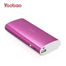 Yoobao Запасные Аккумуляторы для телефонов 13000 мАч Быстрая зарядка Мощность банк Портативный внешний Батарея повербанк для iPhone 7 6 5 SE Сяо mi Ми Huawei Meizu