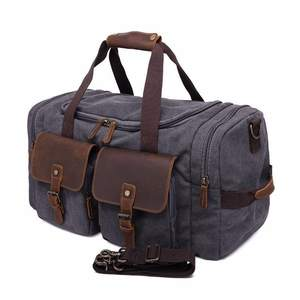 633b5ca7ca Outdoor Camping Travel Canvas Bag Man Handbag Time Wear-resisting Single  Shoulder