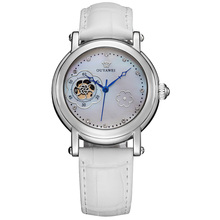 OUYAWEI Women Watches Fashion Luxury Brands Shell Floral Dia