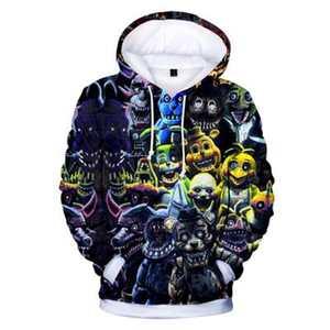 Image 4 - Novo outono 3d imprimir cinco noites em freddys moletom para meninos escola hoodies para meninos fnaf traje para adolescentes roupas esportivas