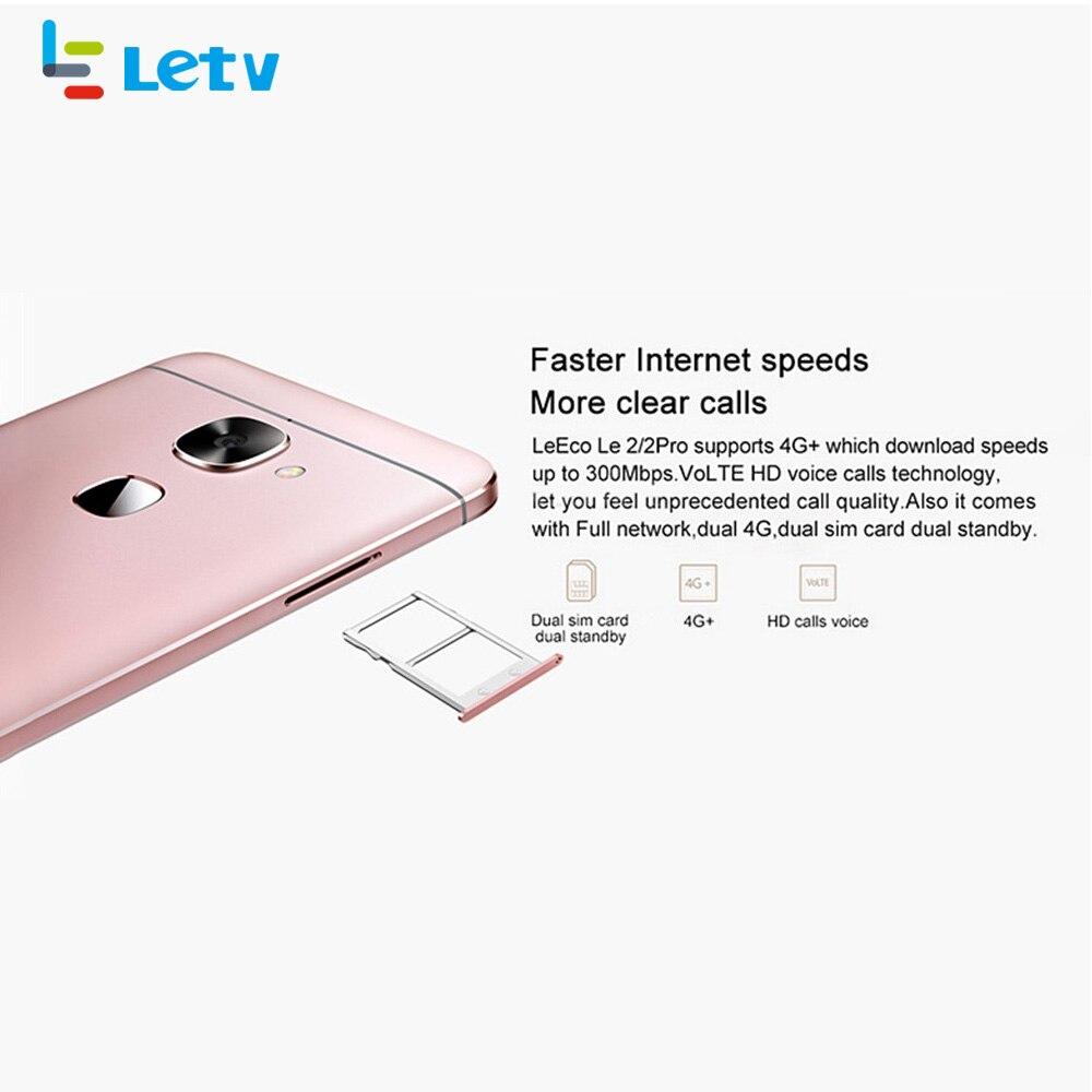 Оригинальный LeEco Letv S3 X522 Le2 X526 X520 3 ГБ ОЗУ 32 ГБ/64 ГБ Snapdragon 652 смартфон 5,5 дюймов Восьмиядерный 3000 мАч 4G мобильный телефон - 5