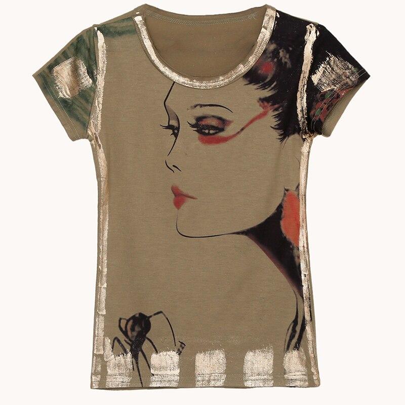 Женская футболка Gkfnmt Vetement, летняя футболка с коротким рукавом и принтом с героями мультфильмов, большие размеры, 2019|t shirt korean|o-neck topt-shirt women | АлиЭкспресс