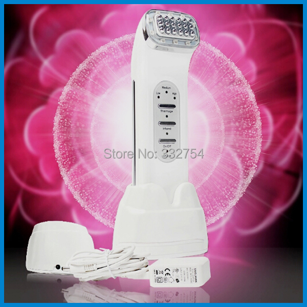 Wome Face Beauty Portable RF Facial Massager Skin Tightening Rejuvenation Thermage RF Equipment