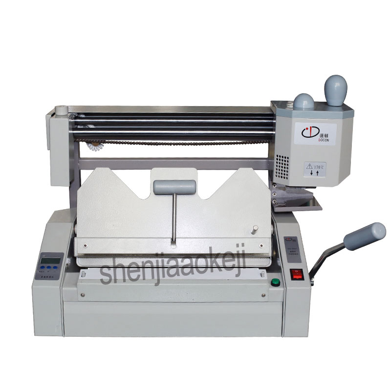 A4 размер клей переплет машина клей книга binder машина офисного электронного оборудования 220 В/110 В 500 Вт 1 шт