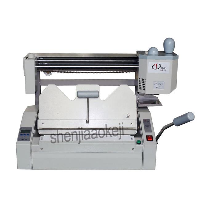 A4 size glue binding machine glue book binder machine of the office Electronic equipment 220V/110v 500W 1pc