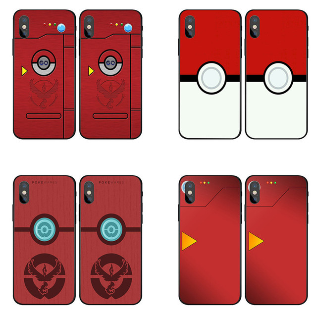reputable site c4a8a a7a60 US $1.92 29% OFF|Pokedex Case Cover for iPhone 5 5s 5c SE 6 6s 7 Plus Pour  Red Pokedex Alt fashion cell phone cases For iPhone X 5 6 6S 7 8 Plus-in ...