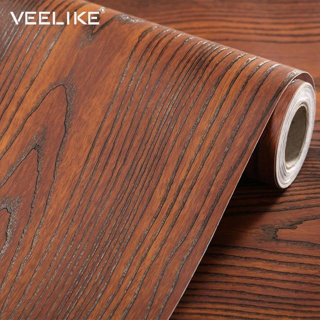 DIY Kitchen Cabinet Door Furniture Wooden Vinyl Stickers ...