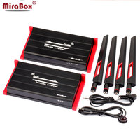 MiraBox 300m 984ft Wireless HDMI Extender Support 1080p Full HD IR Control Though Thin Wall With