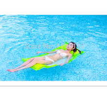 Hot Sell Green Color Swimming Floating Bag Bed Beanbag