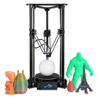 Sinis T1 Plus Delta 3d Printer 3.5 inch TFT touch screen PLA ABS High Precision 3D Drucker Metal and Acrylic Frame Impressora 3d