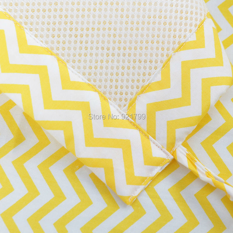 2PCS Long Cotton&Polyester Summer Baby Crib Bumper Safety Crash Barrier Breathable Newborn Bedding Safety 3D Baby Bumpers Sets