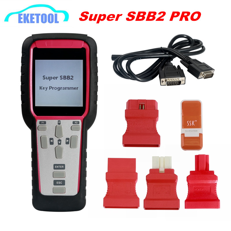 Супер SBB2 Ключевые программист Нефть/Сервис Сброс/TPMS/EPS/BMS ручной сканер обновления чем SBB/CK100 более Функция SBB2 переносной