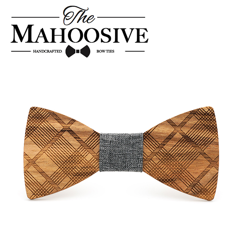 Mahoosive Boutique Metal Head Bow Ties For Groom Men Women Butterfly Solid Bowtie Classic Gravata Cravat Freeshipping